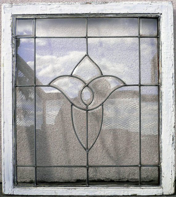 Old Leaded Glass Windows : Window glass old for sale