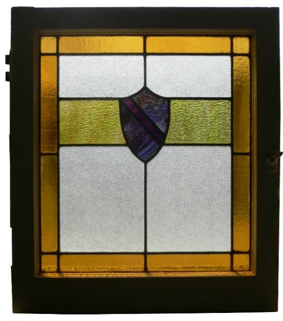 Fabulous antique american arts crafts stained glass for American window design