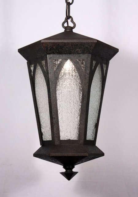 Handsome Antique Gothic Revival Lantern Early 1900 S