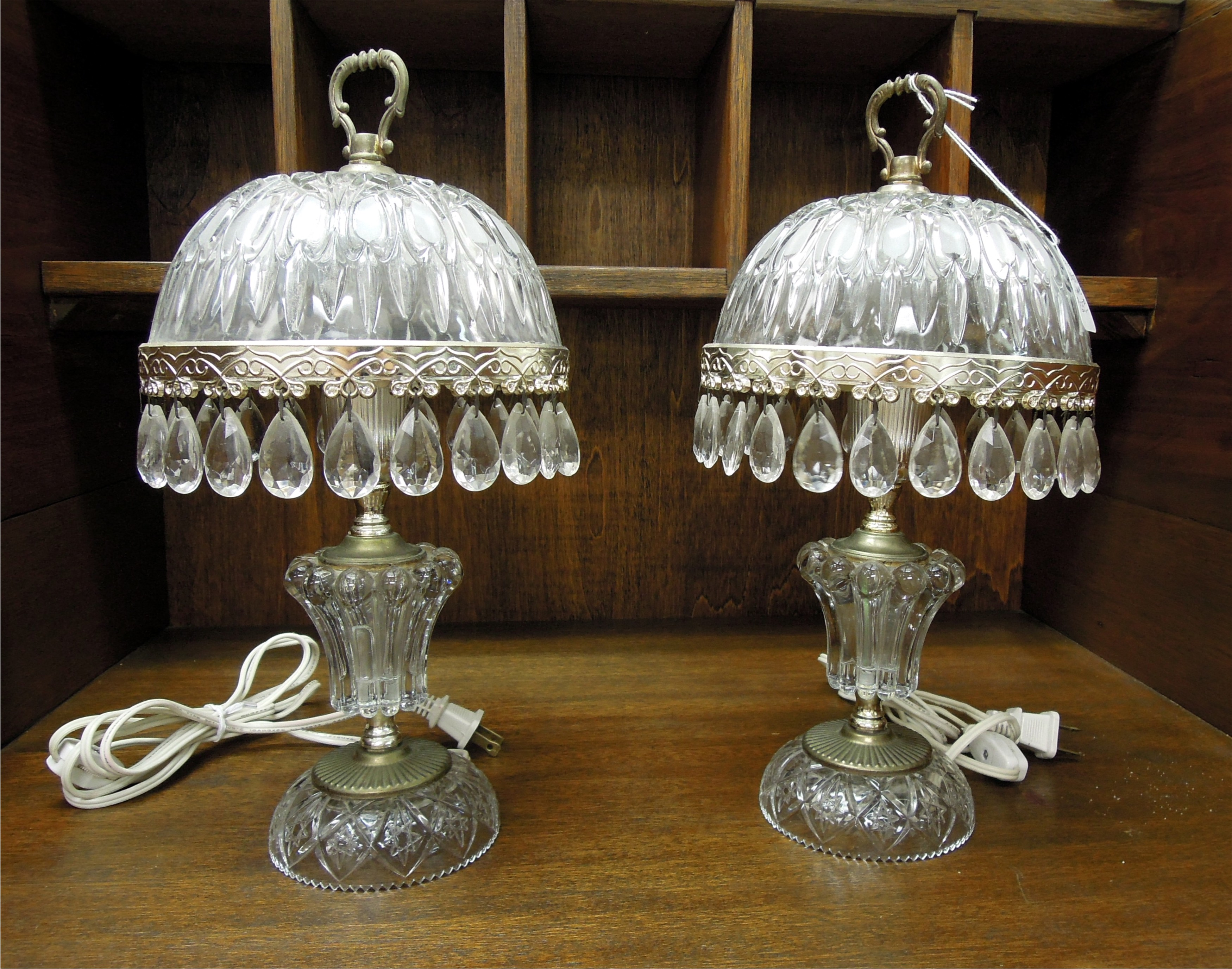 Old Crystal Table Lamp ~ Best Inspiration for Table Lamp