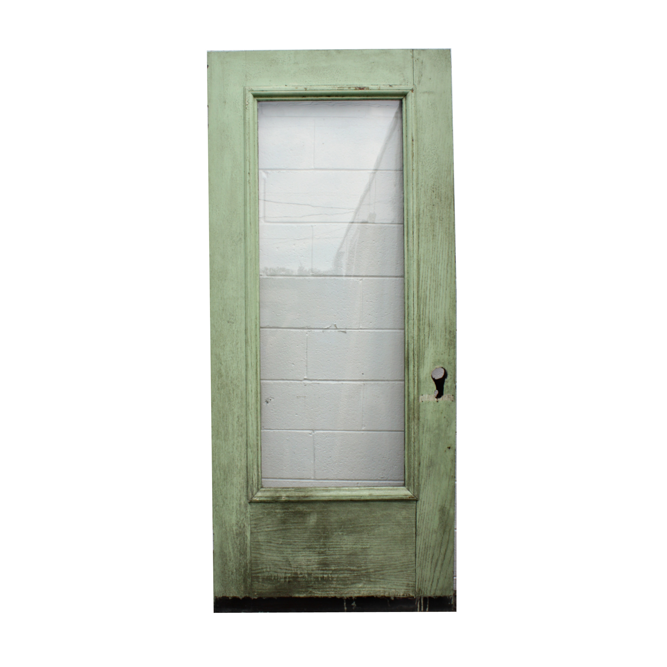 "2268 #2C2C20 Reclaimed 36"" Oak Full View Exterior Door NED174 RW For Sale  picture/photo Full View Entry Doors 43692268"