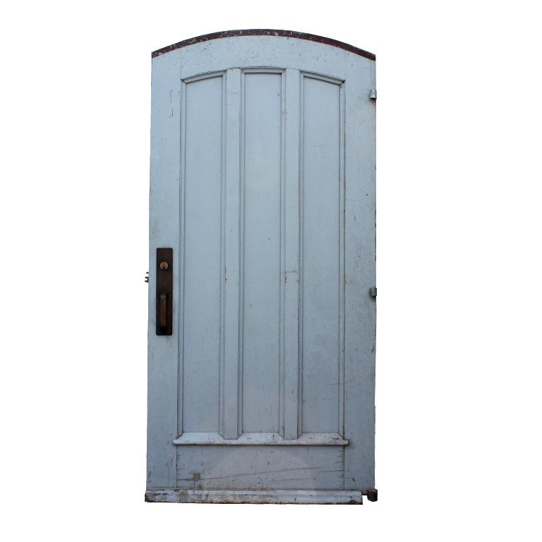 Antique 40 Oak Arched Entry Door From Vanderbilt University C