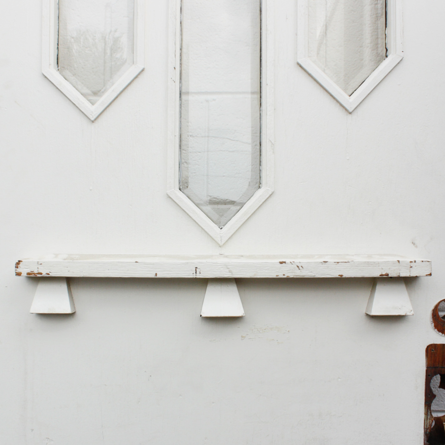 Wonderful Arts Crafts 36 Exterior Oak Door With Beveled Windows And Dentil Molding Ned178 Rw