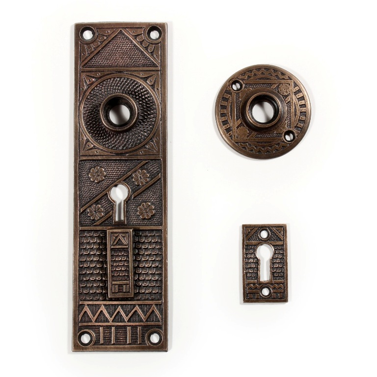 Vintage Exterior Door Hardware - Bestsciaticatreatments.com