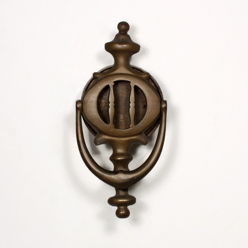 This is an antique bronze door knocker with a round speakeasy made by the A.C.M company and dating to the first part of the 20th century. & Antique Bronze Door Knocker with Round Speakeasy Early 1900\u0027s ...