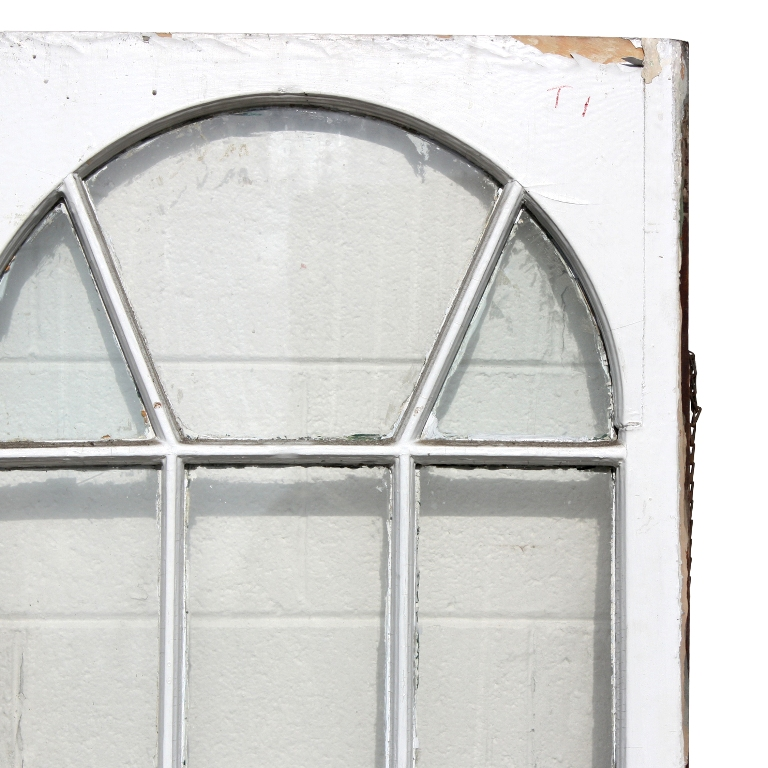 Remarkable Salvaged Antique Windows With Arched Design