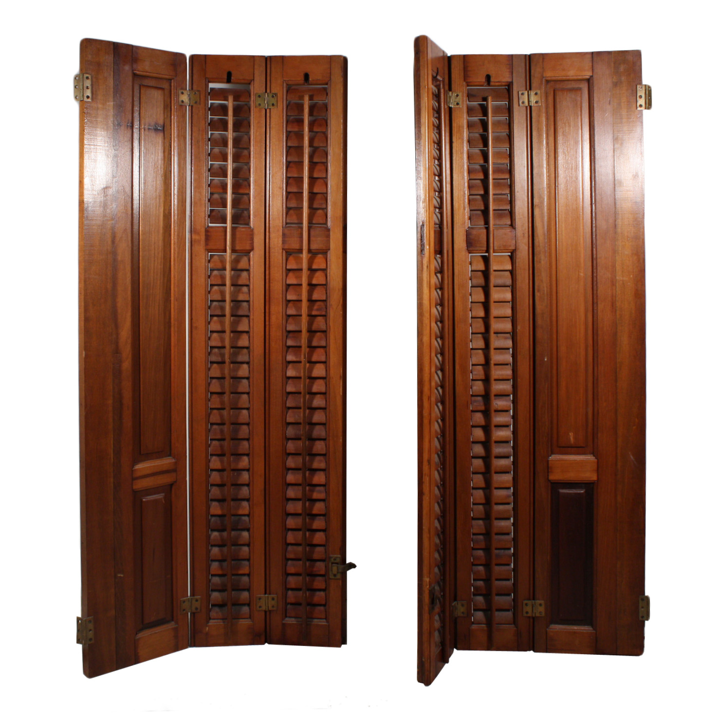 lovely antique interior wood shutters early 1900 39 s nshr5 rw for sale classifieds