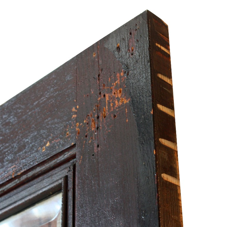 Antique Salvaged 36 Arts Crafts Exterior Door With Egg And Dart Detail Ned111 Rw For Sale