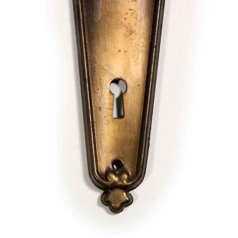 Superb antique door plates 1920s 1930s ndp123 rw for sale for 1920s door handles