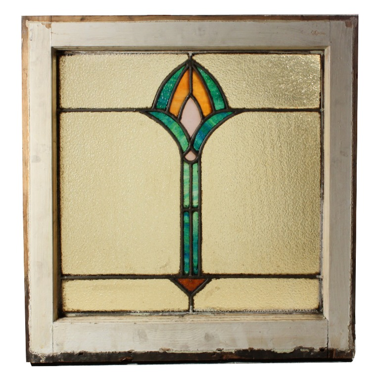 Gorgeous antique american stained glass window c early for 1900 stained glass window