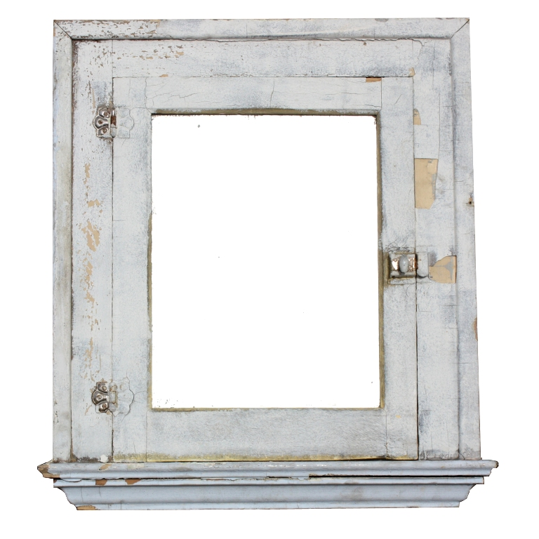 Antique medicine cabinet with mirror for sale palmer for Bathroom mirrors for sale