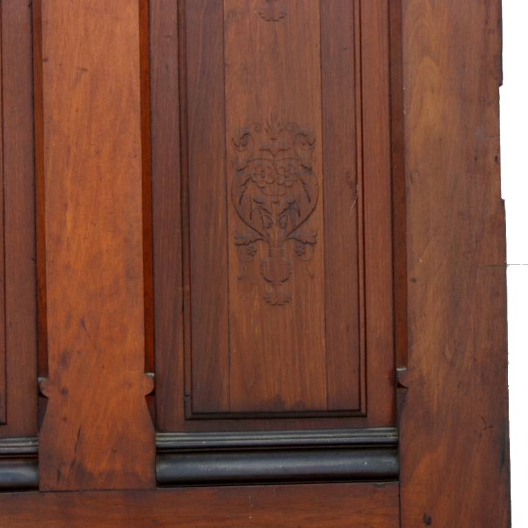 ... ornamented on both sides with a floral design suitable for either interior or exterior use. Dating from the late 19th Century this poplar door was ... & Unusual Antique 36u201d x 100u201d Poplar Four-Panel Door with Flower ... pezcame.com