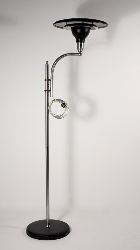 Seven Matching Vintage Sight Light Floor Lamps By M G