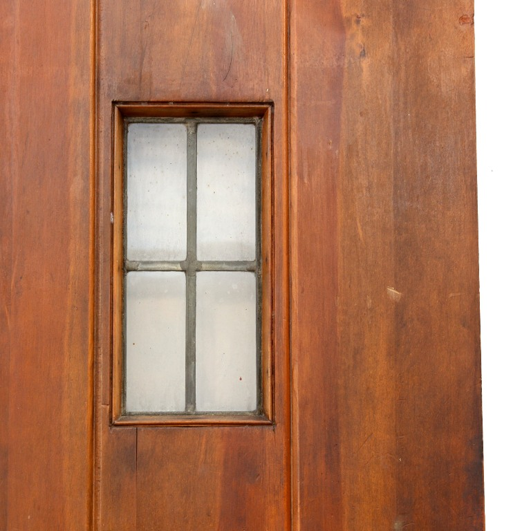 Unique antique exterior 36 plank door with small leaded for Exterior windows for sale
