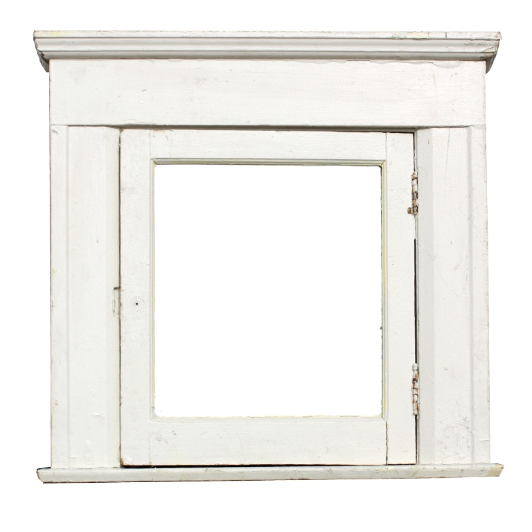 Salvaged antique bathroom medicine cabinet with mirror for Bathroom mirrors for sale