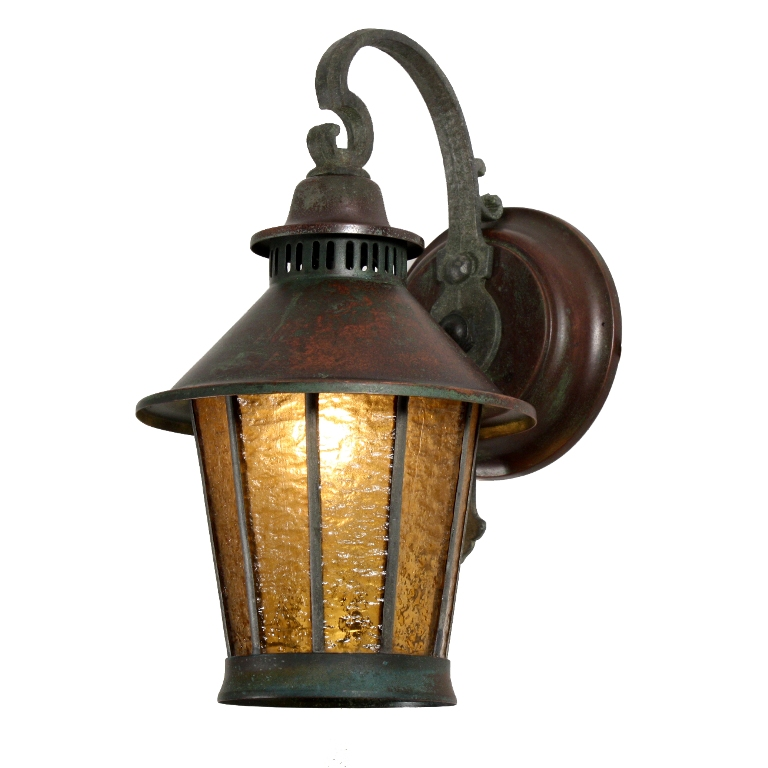 1920s Outdoor Lighting Bringin The Outdoors In Bower Rcb Superb Pair Of Antique Exterior Copper Lanterns With Original Gl C 1920 S Nsp744 For