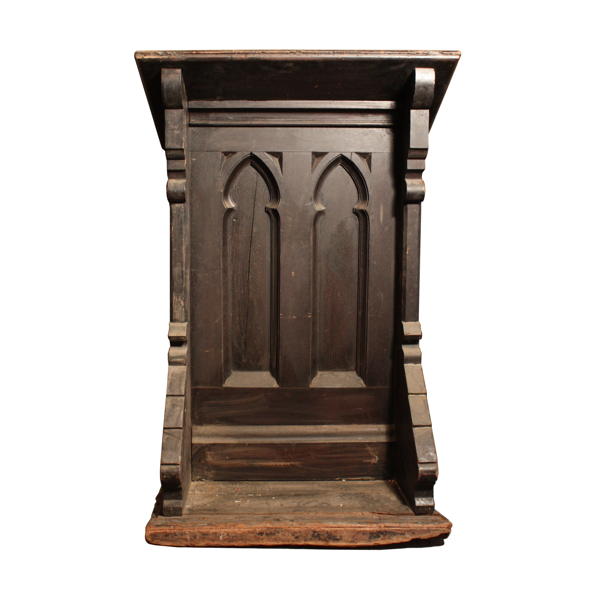 Antique gothic revival furniture for sale - Remarkable Antique Gothic Revival Pulpit Oak 19th Century Np2 Rw For Sale