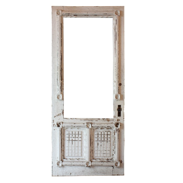 "Amazing Salvaged 34"" Eastlake Door with Geometric Design, 1880's ..."