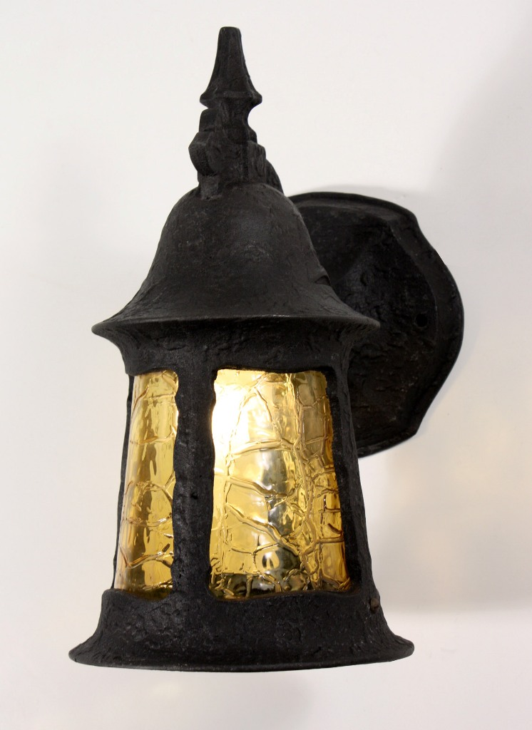 Superb Antique English Tudor Exterior Lantern Sconce Early 1900 S NSP610 For