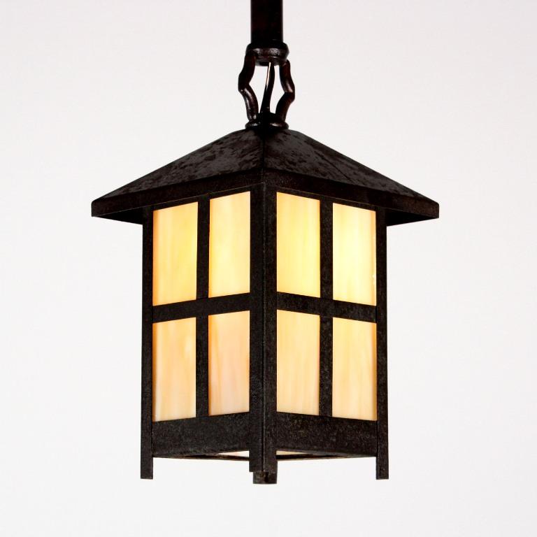 Porch Light Appraisal: Charming Antique Arts & Crafts Exterior Lantern With Slag