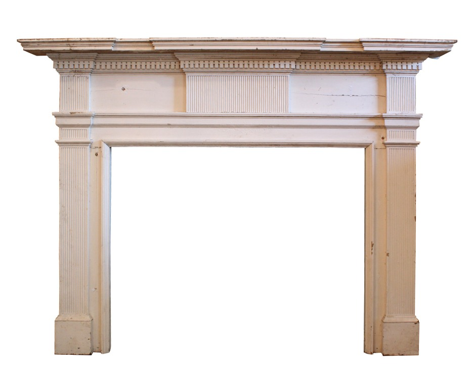 Fantastic Antique Federal Fireplace Mantel Late 1700 39 S To Early 1800 39 S Nfpm20 Rw For Sale