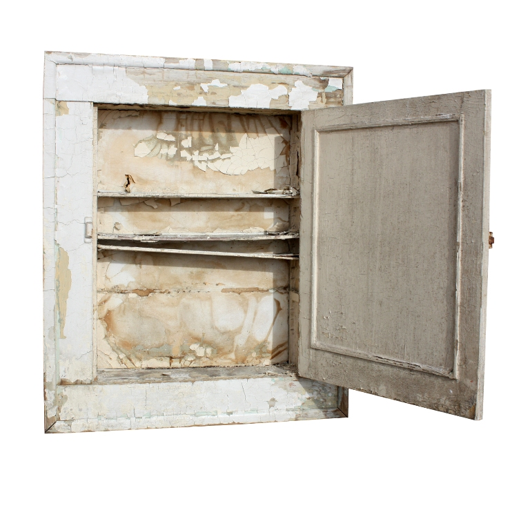 bathroom medicine cabinet with beveled mirror butterfly hinges