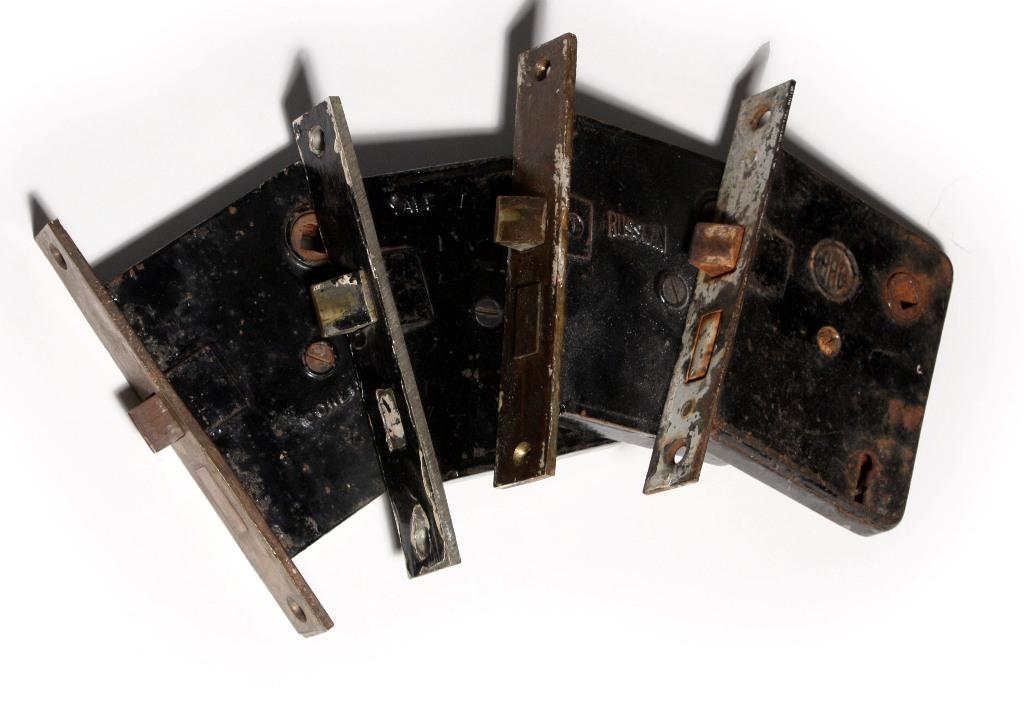 Antique Mortise Locks For Skeleton Keys Nml2 For Sale