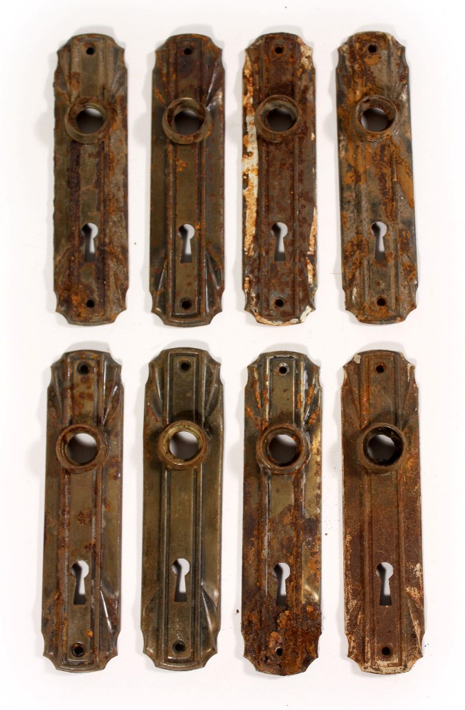 Antique art deco door plates 1920 s 1930 s ndp59 for sale for 1930 door locks