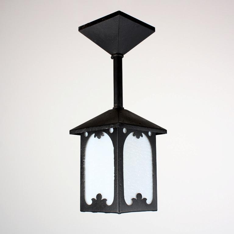 Porch Light Appraisal: Wonderful Antique Arts & Crafts Exterior Lantern From St