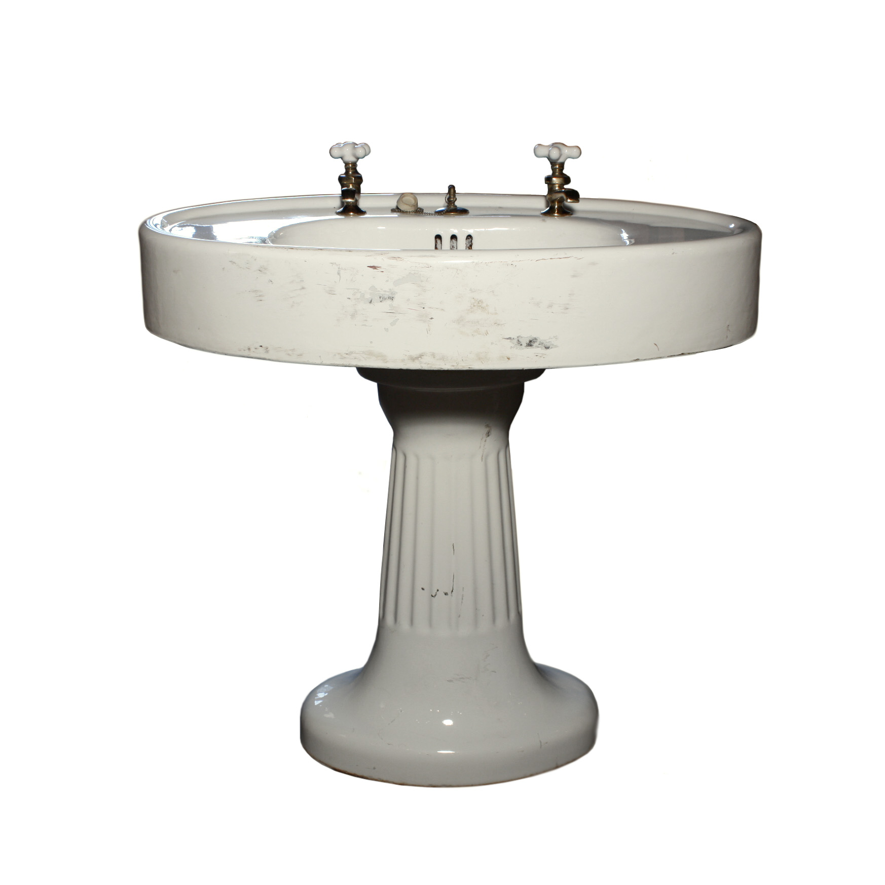 Remarkable Antique Porcelain Pedestal Sink Nsk3 Rw For Sale Classifieds
