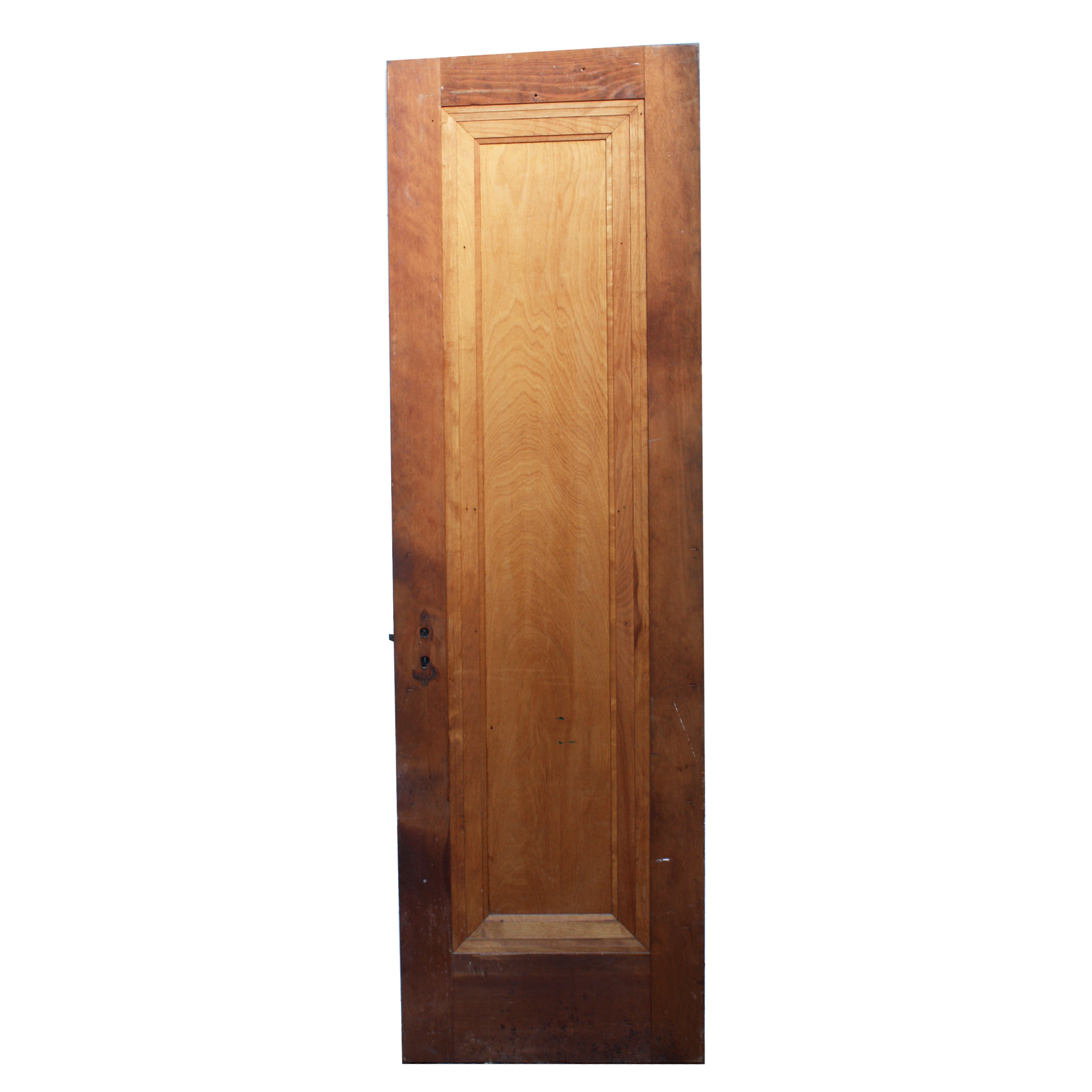 Antique solid wood one panel 24 miracle door with beveled for Entrance doors for sale