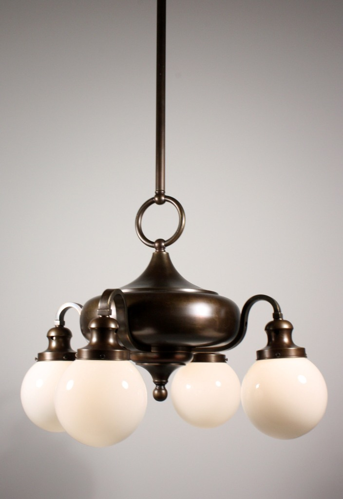 GLASS GLOBES FOR CHANDELIER