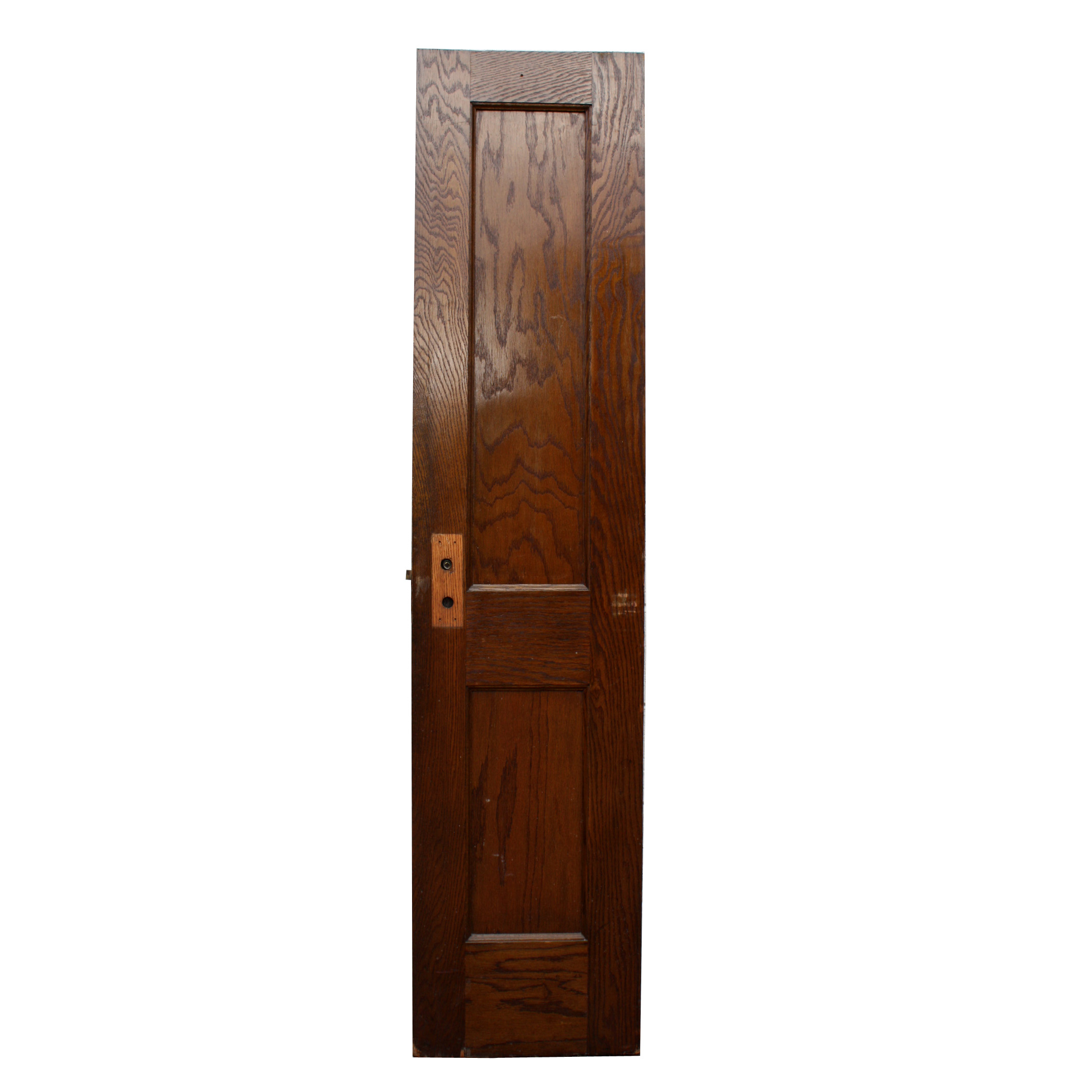 Antique two panel solid wood 18 oak doors nid23 for for Solid oak doors