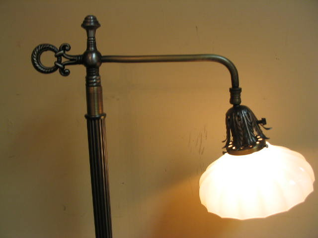 Floor lamp bridge arm vintage for sale antiques classifieds floor lamp bridge arm vintage for sale mozeypictures Gallery