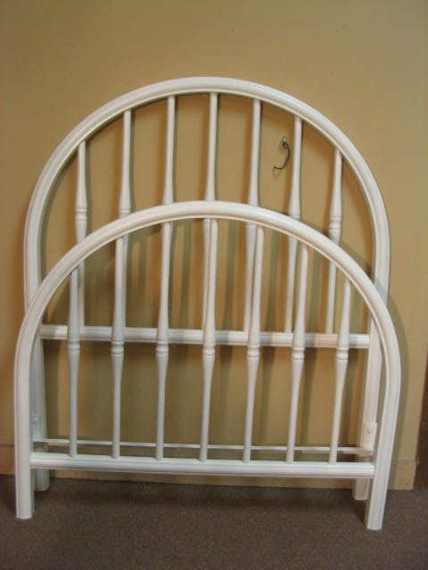 twin metal iron bed for sale