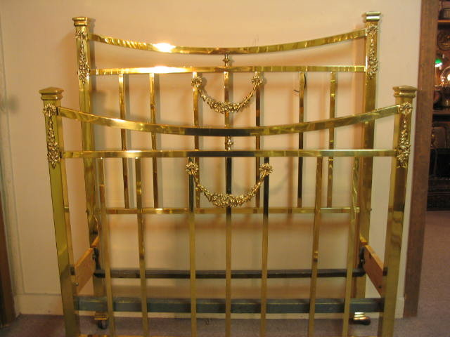Brass Bed Twin Size Early 1900 S For Sale Antiques Com