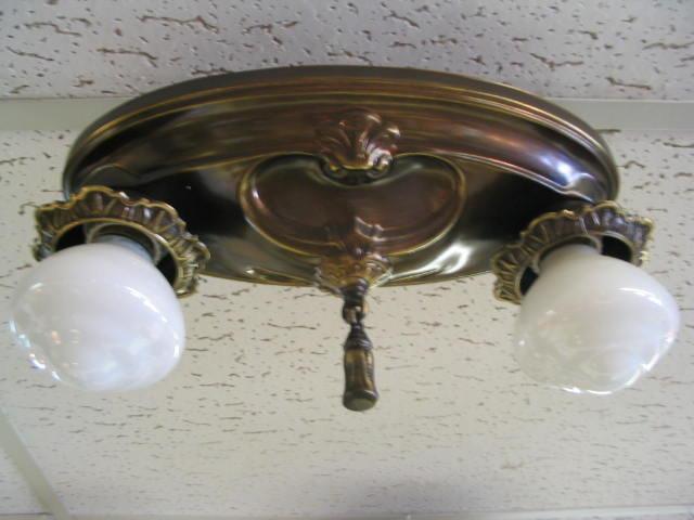 antique 1920 ceiling light fixtures | campernel designs