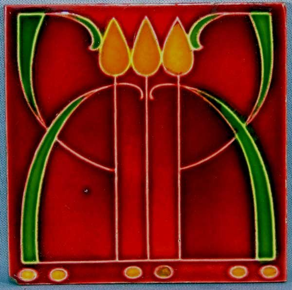English arts and crafts tile by sherwin cotton for sale for Arts and crafts for sale