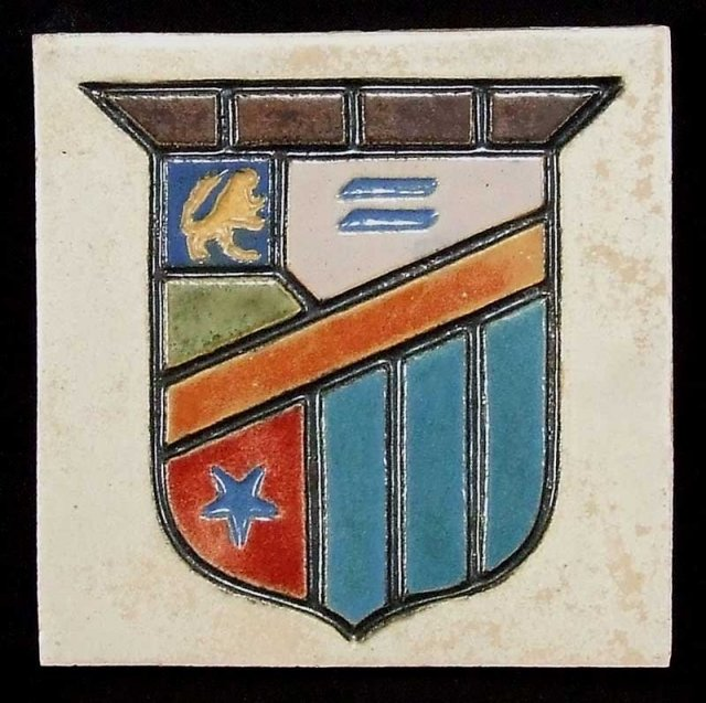 Flint Faience Sheild Tile For Sale Classifieds