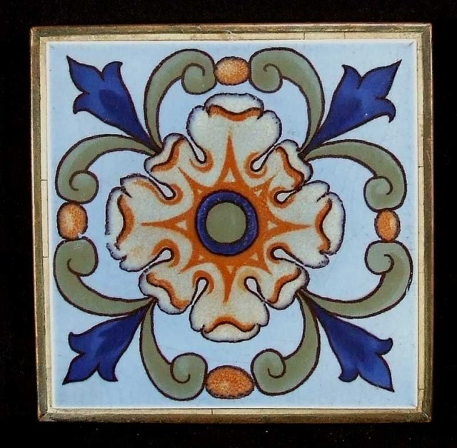 Arts and crafts tile and copper trivet for sale antiques for Arts and crafts for sale