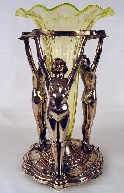 spelter Art Deco figures for sale by lorenzl - YouTube
