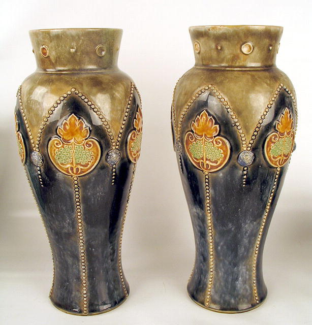 Royal Doulton Vases Value Vase And Cellar Image Avorcor