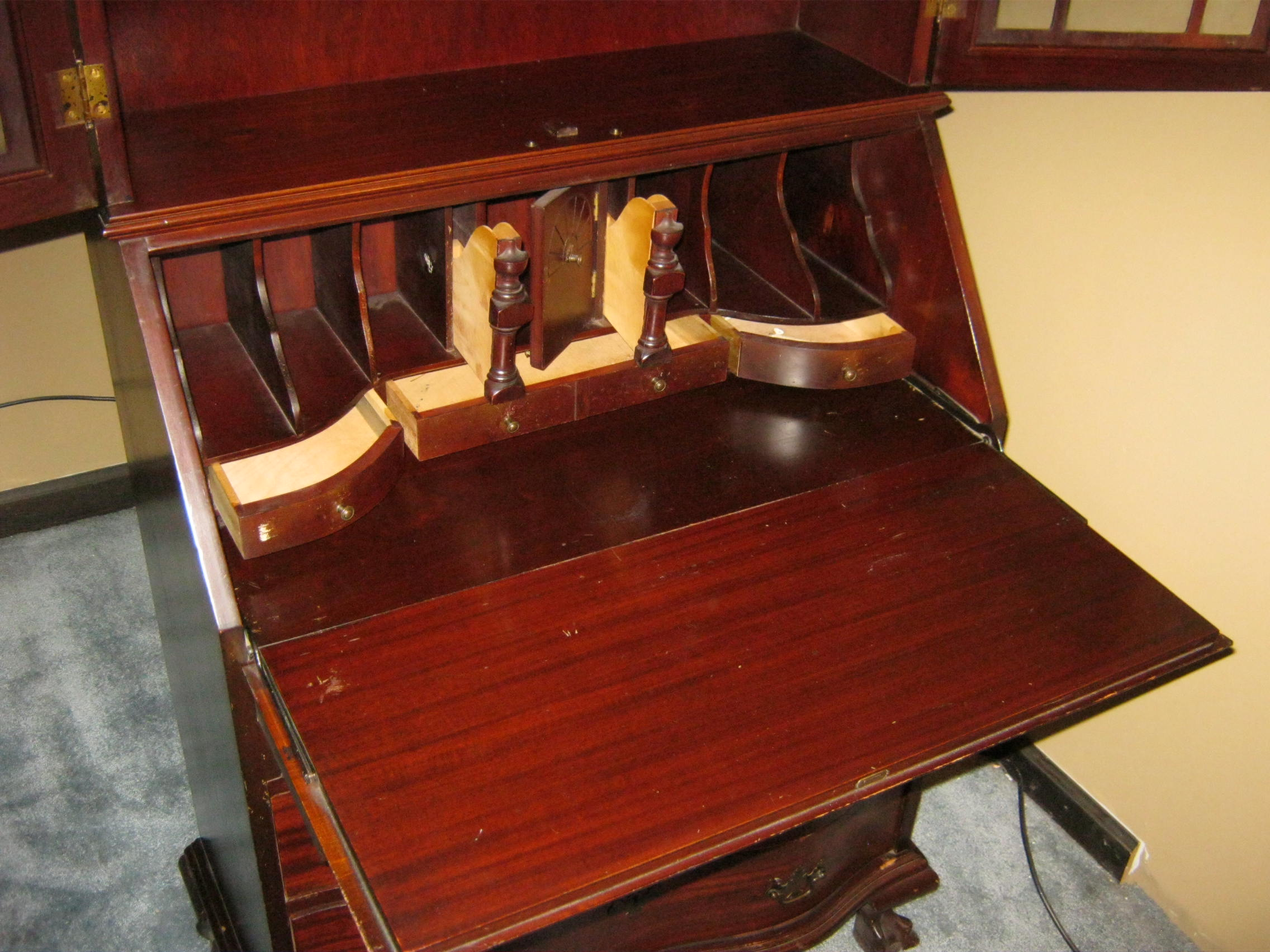 Antique Drop Down Writing Desk