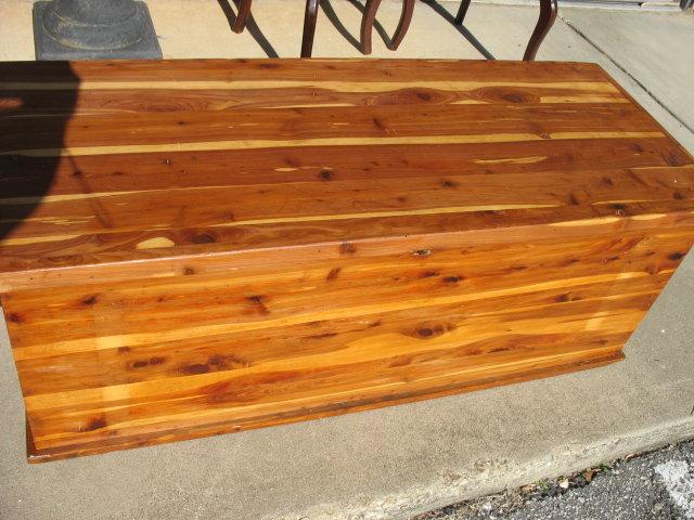 antique cedar blanket chest