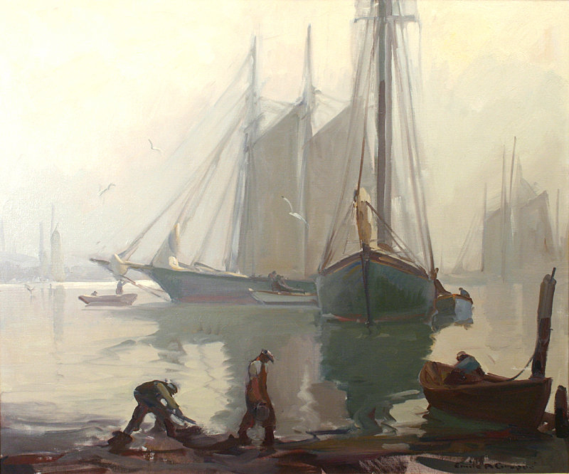 Emile Gruppe Paintings For Sale