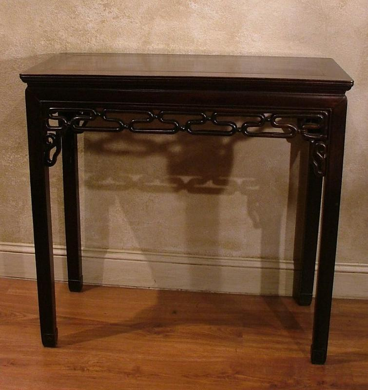 Home Altars For Sale: Mid 19th Century Rosewood Chinese Altar Table For Sale