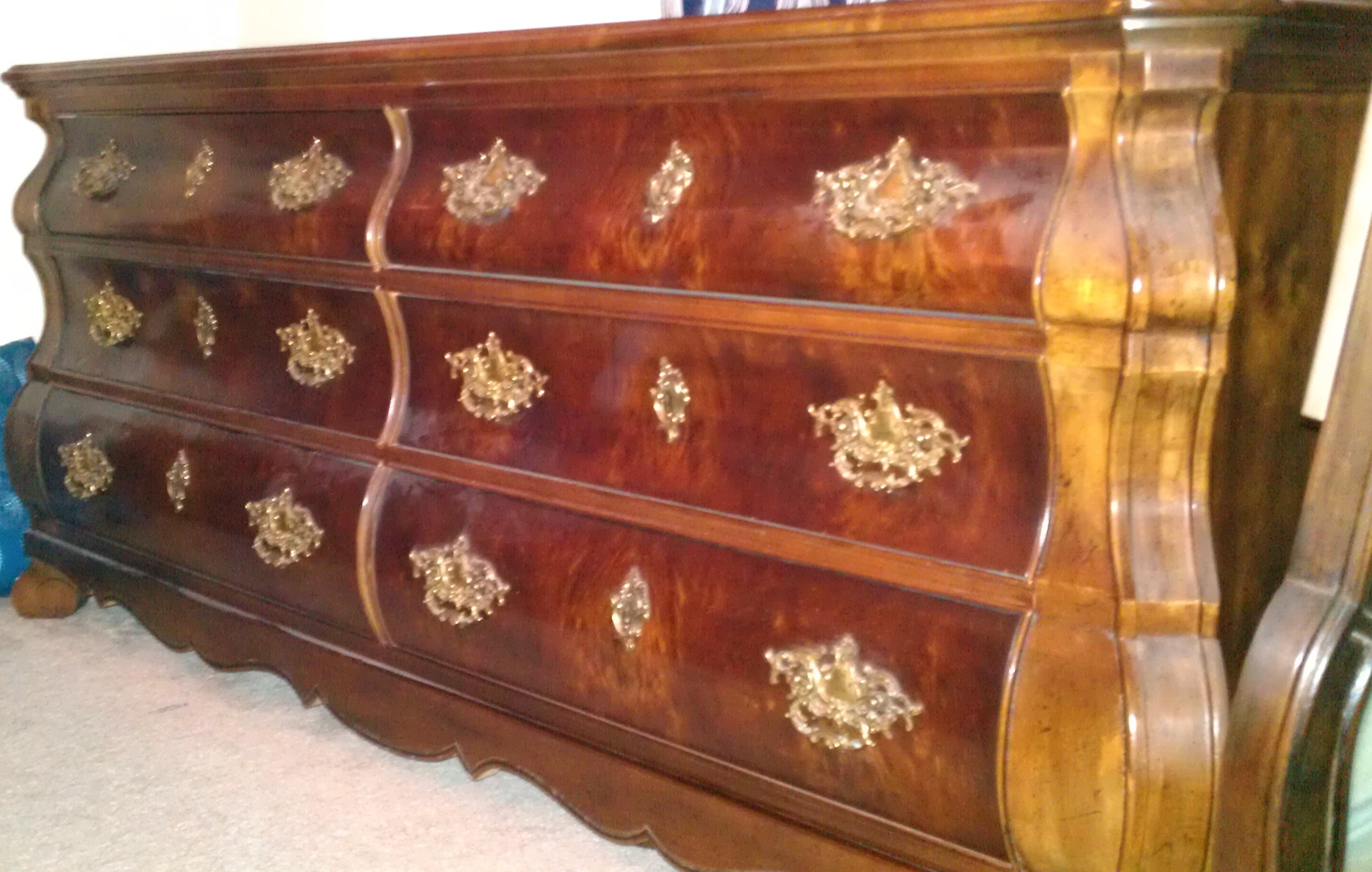 Beautiful 5 pc henredon bedroom set for sale antiques - Used queen bedroom sets for sale ...
