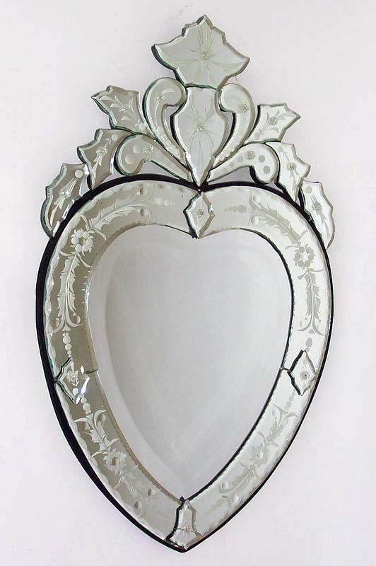 Venetian Heart Shaped Mirror For Sale Antiques Com