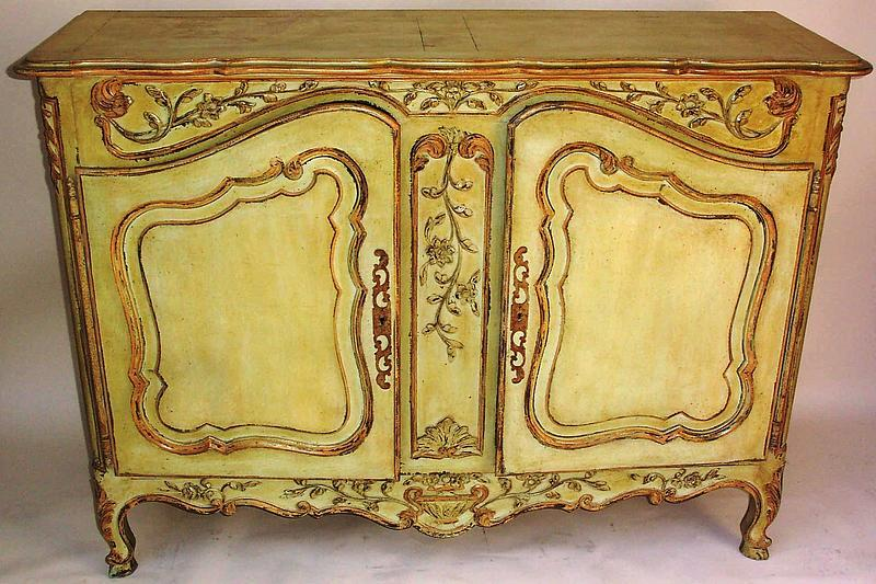 an antique louis xv style painted buffet 19th century for sale antiquescom classifieds