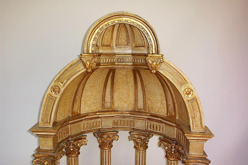 Massive antique italian baroque style tempietto for sale for Baroque lifestyle